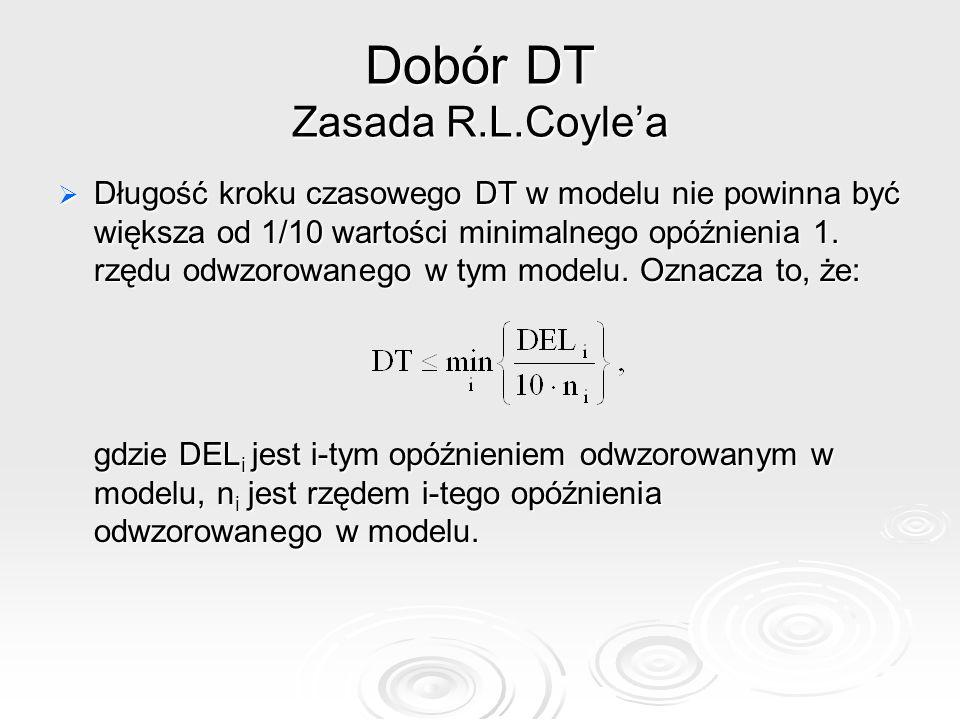 Dobór DT Zasada R.L.Coyle'a