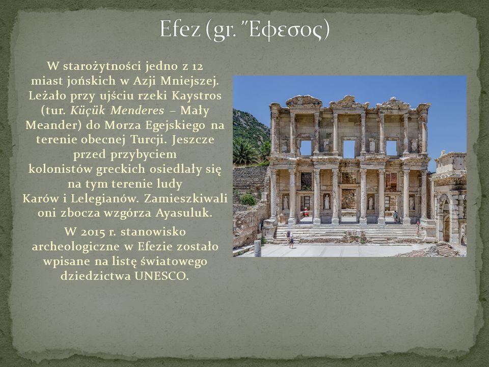 Efez (gr. Ἔφεσος)