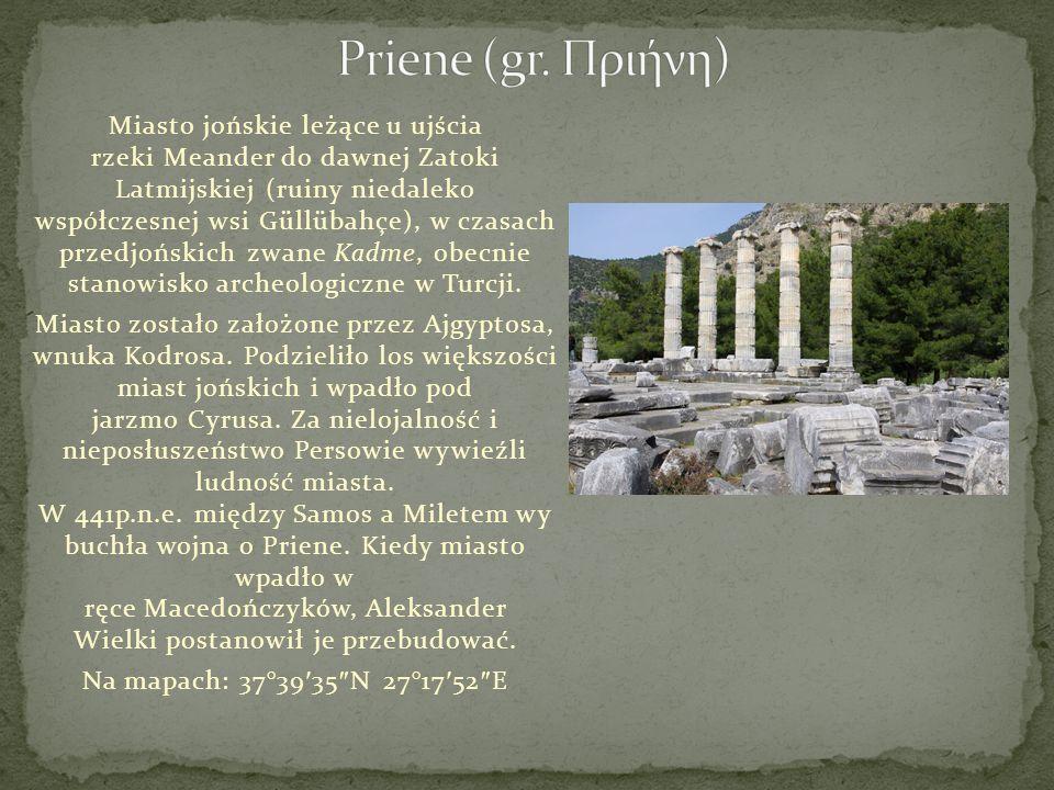 Priene (gr. Πριήνη)