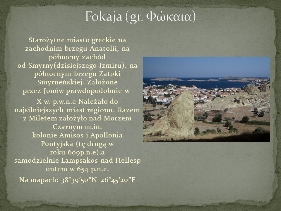 Fokaja (gr. Φώκαια)