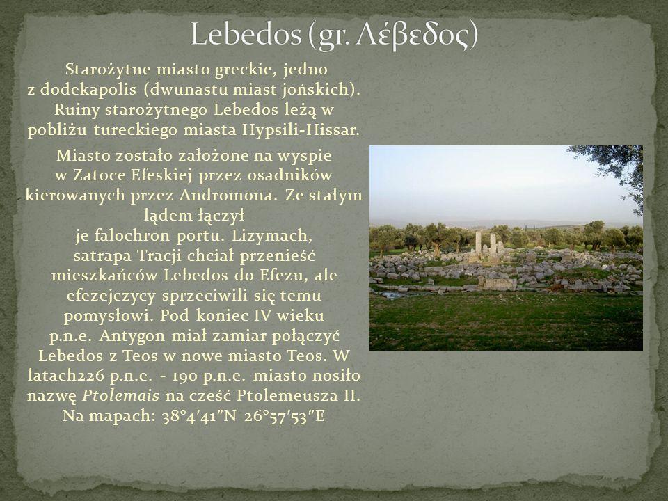 Lebedos (gr. Λέβεδος)