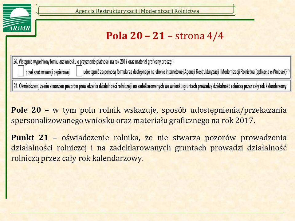 Pola 20 – 21 – strona 4/4