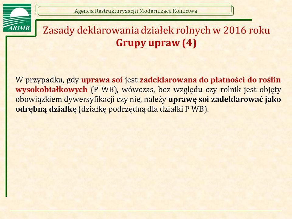 Zasady deklarowania działek rolnych w 2016 roku Grupy upraw (4)