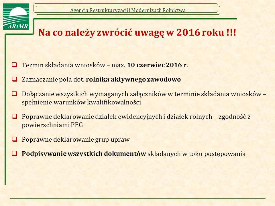 Na co należy zwrócić uwagę w 2016 roku !!!
