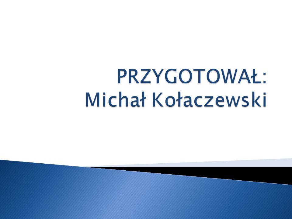 PRZYGOTOWAŁ: Michał Kołaczewski