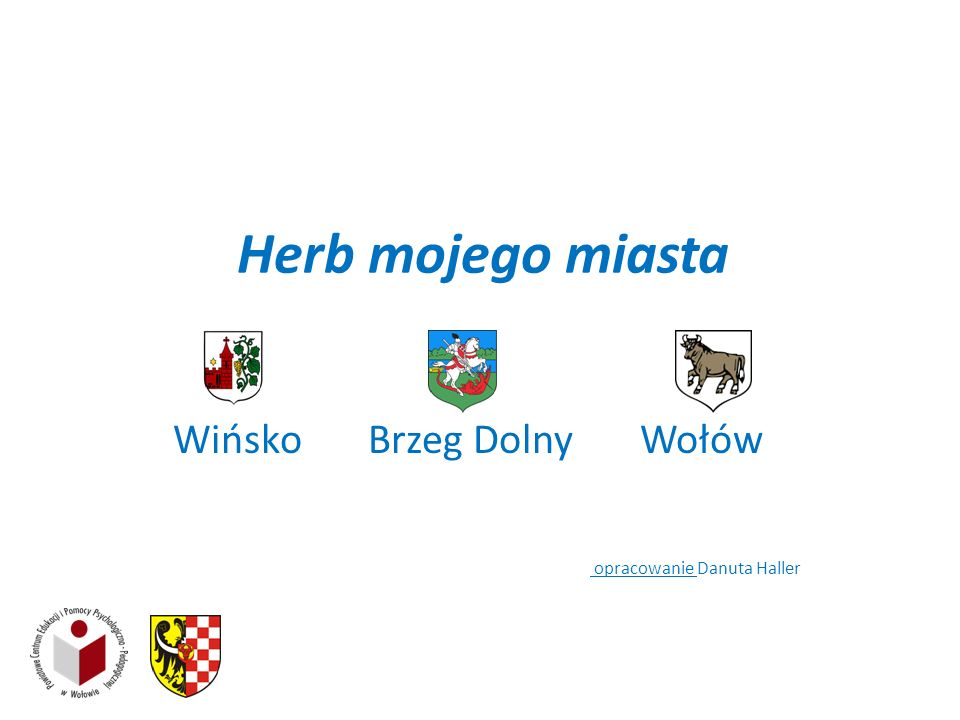 Wińsko Brzeg Dolny Wołów opracowanie Danuta Haller