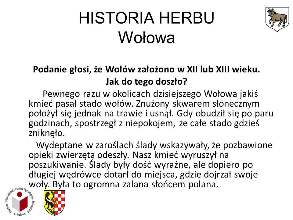HISTORIA HERBU Wołowa
