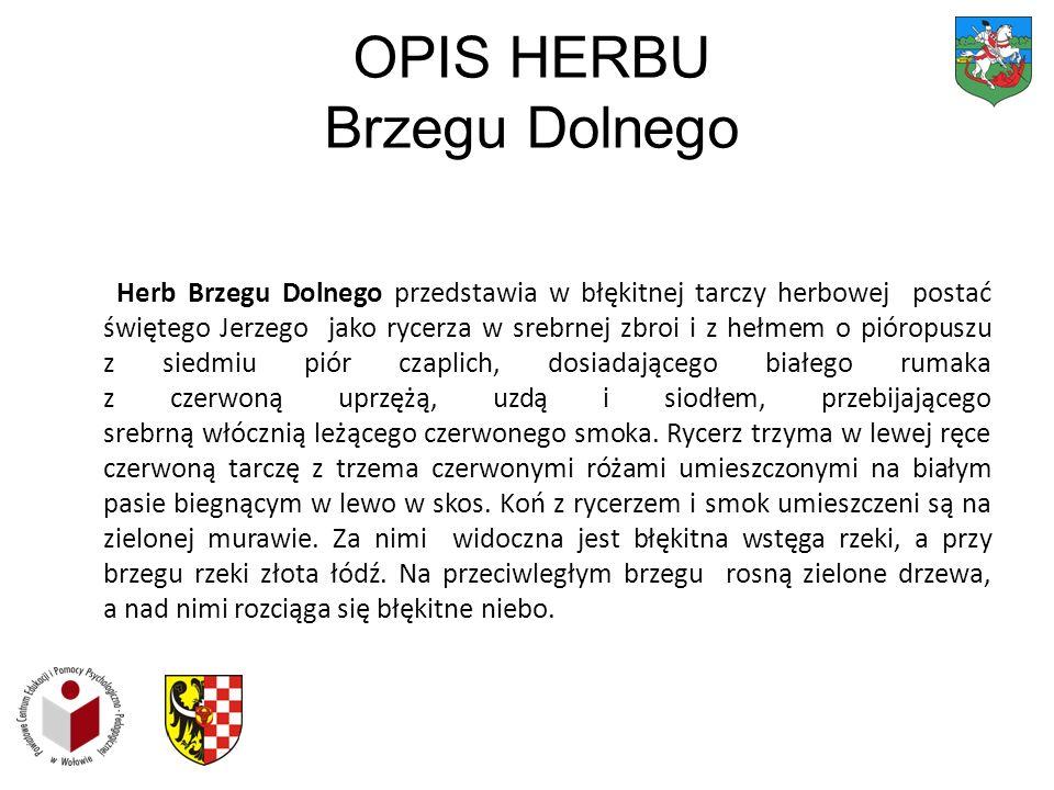 OPIS HERBU Brzegu Dolnego