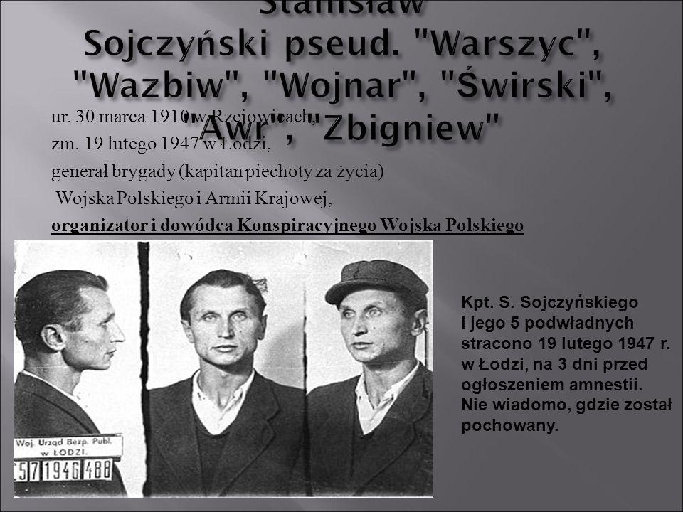 Stanisław Sojczyński pseud