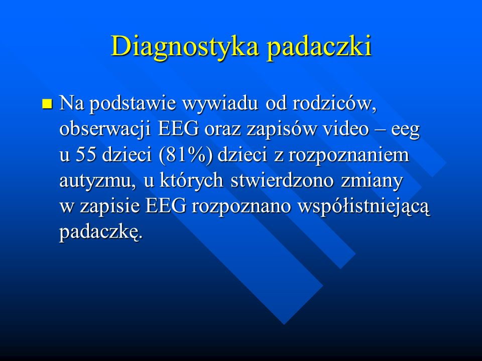 Diagnostyka padaczki