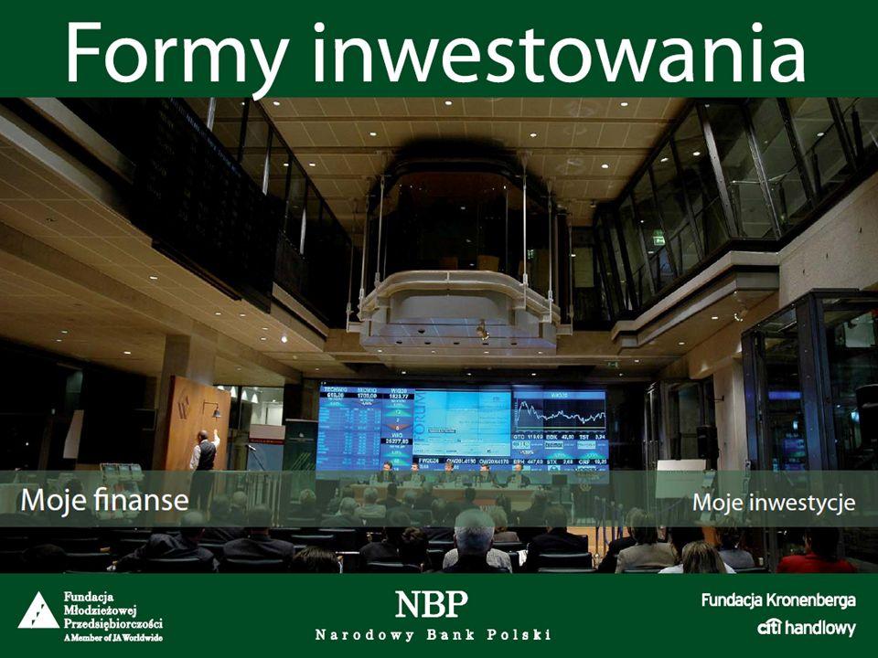 Formy inwestowania