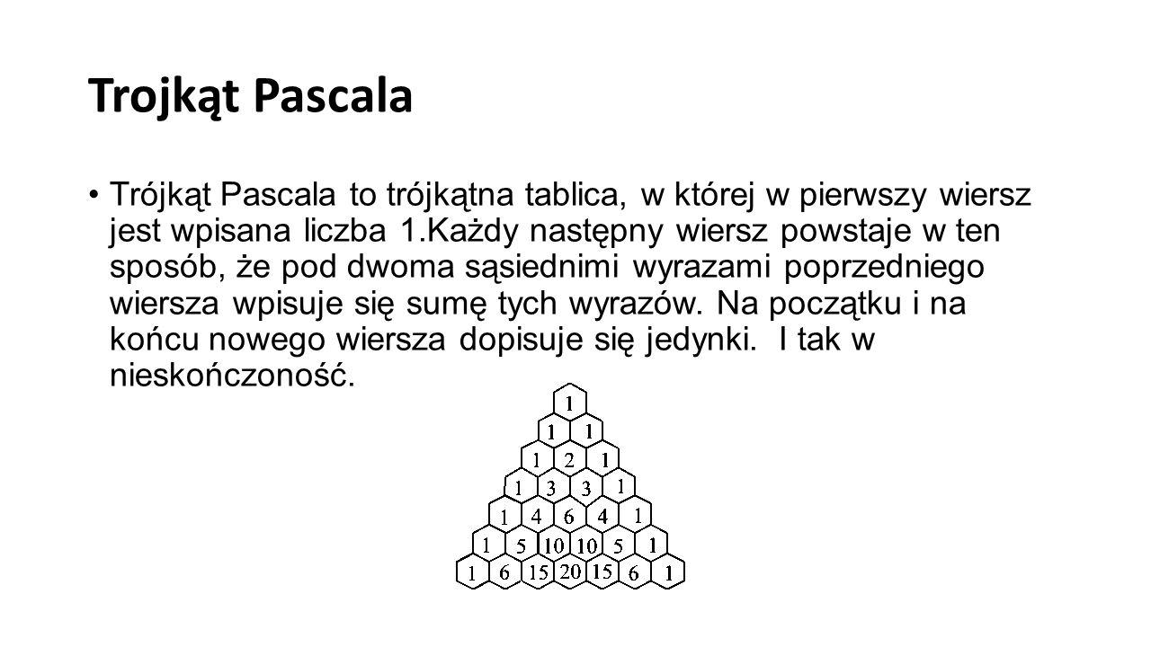 Trojkąt Pascala