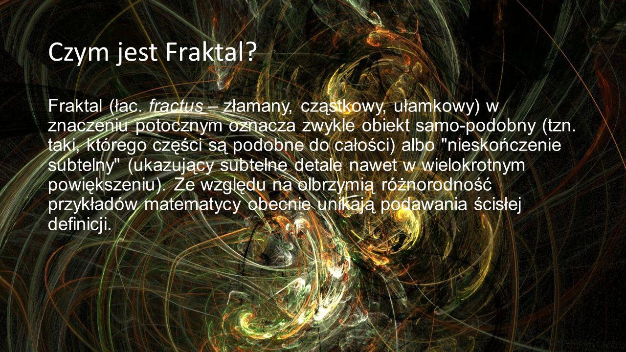 Czym jest Fraktal