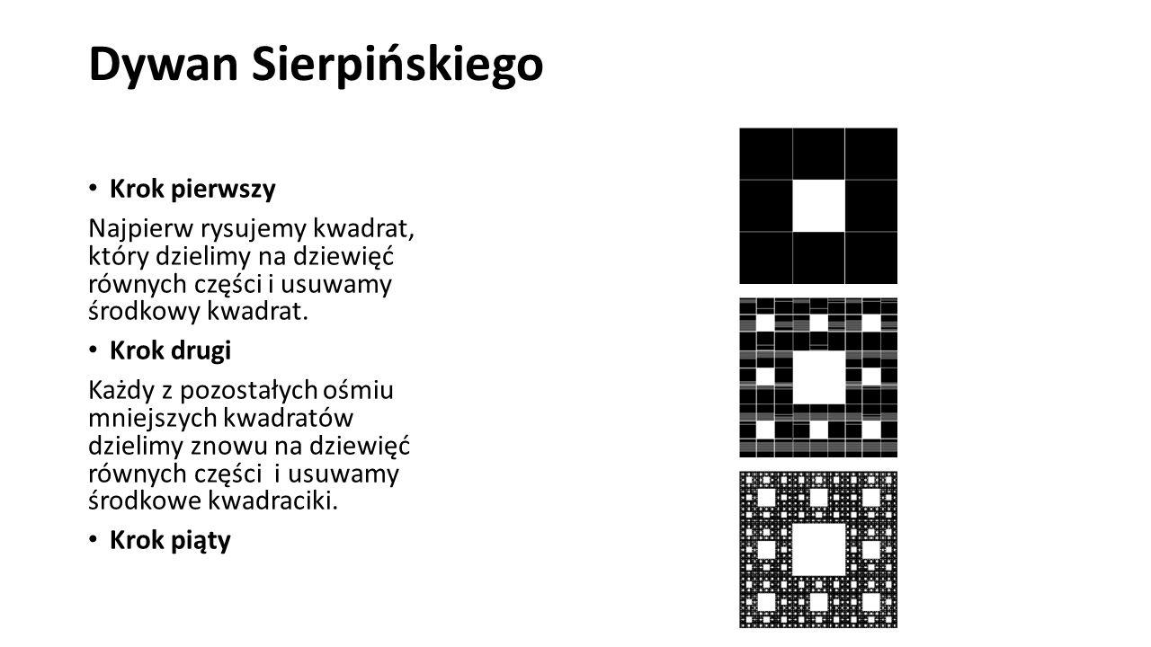 Dywan Sierpińskiego Krok pierwszy