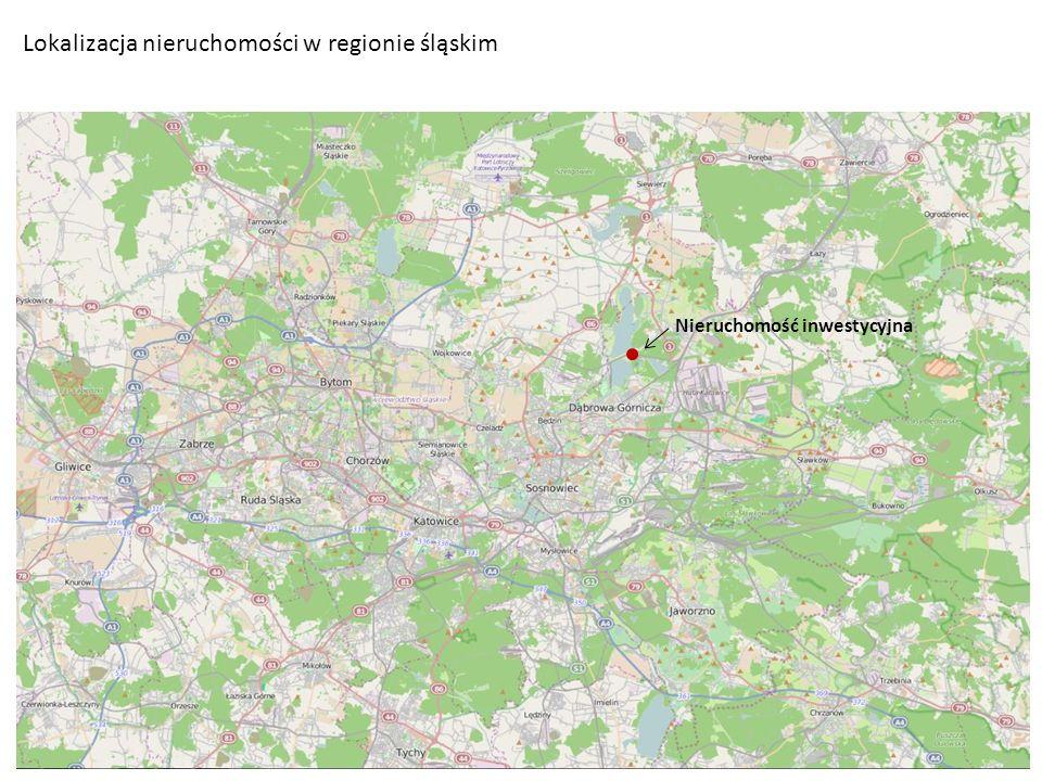 Lokalizacja nieruchomości w regionie śląskim