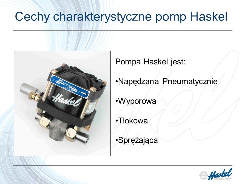 Cechy charakterystyczne pomp Haskel