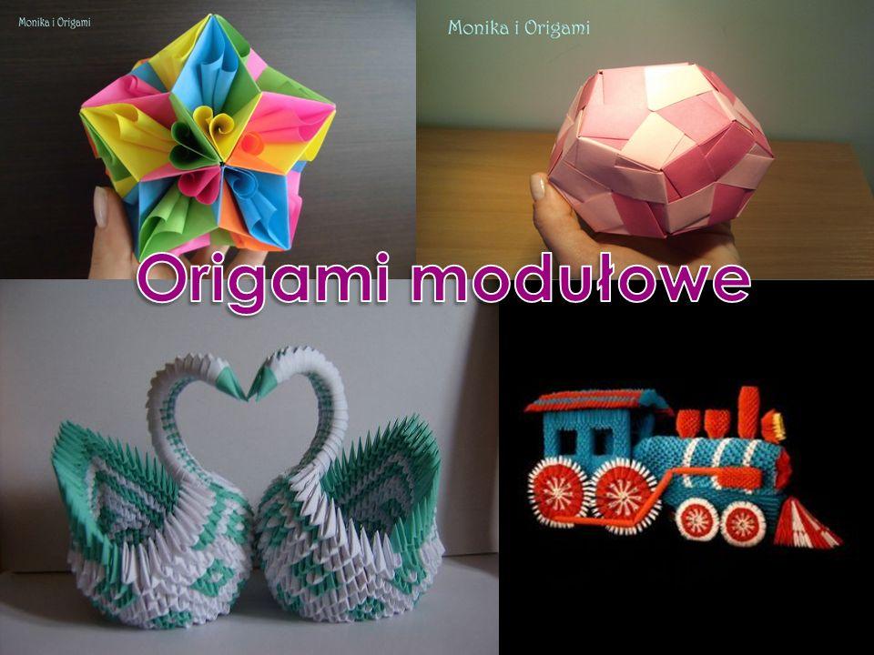 Origami modułowe Origami modułowe