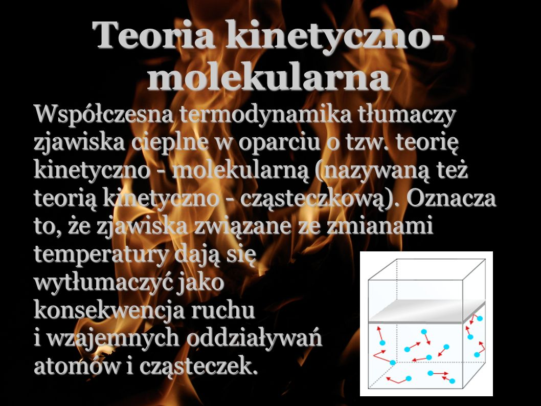 Teoria kinetyczno-molekularna