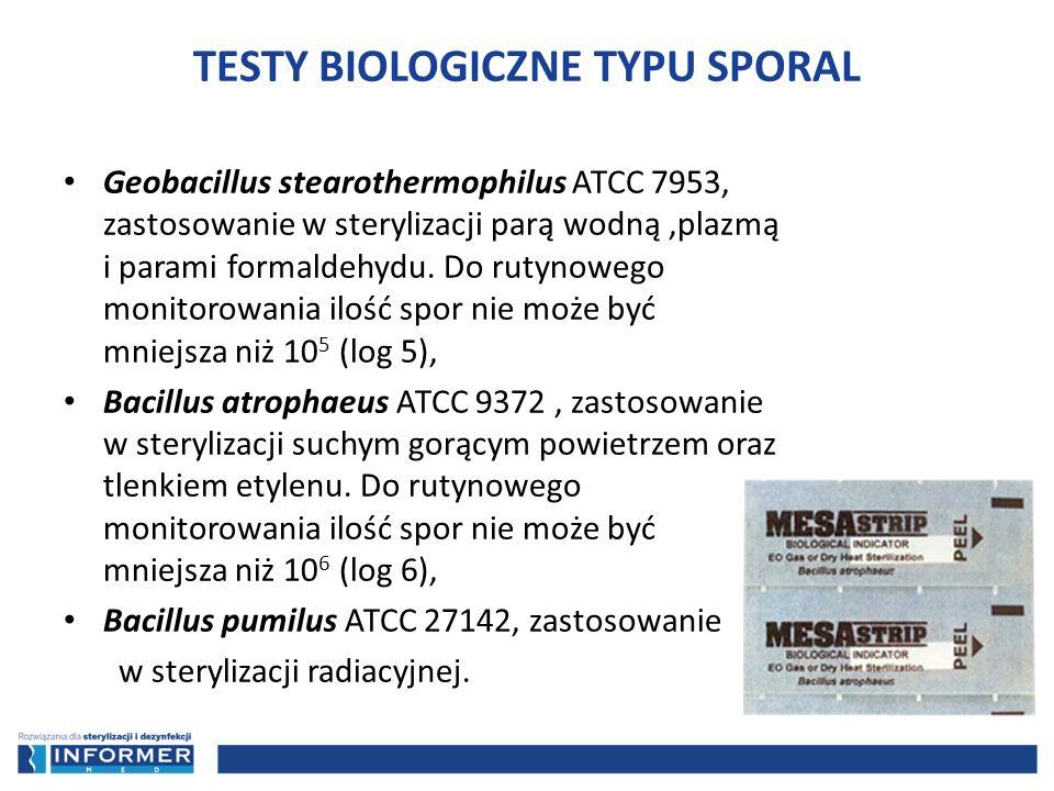 TESTY BIOLOGICZNE TYPU SPORAL