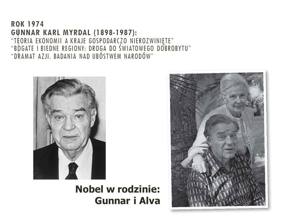 Nobel w rodzinie: Gunnar i Alva