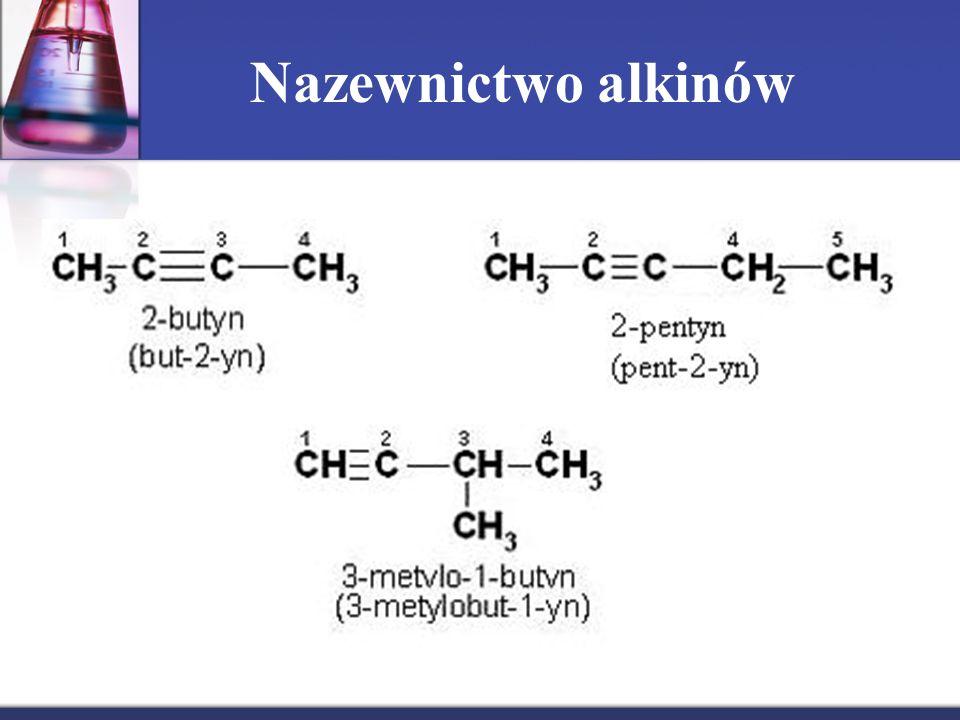 Nazewnictwo alkinów
