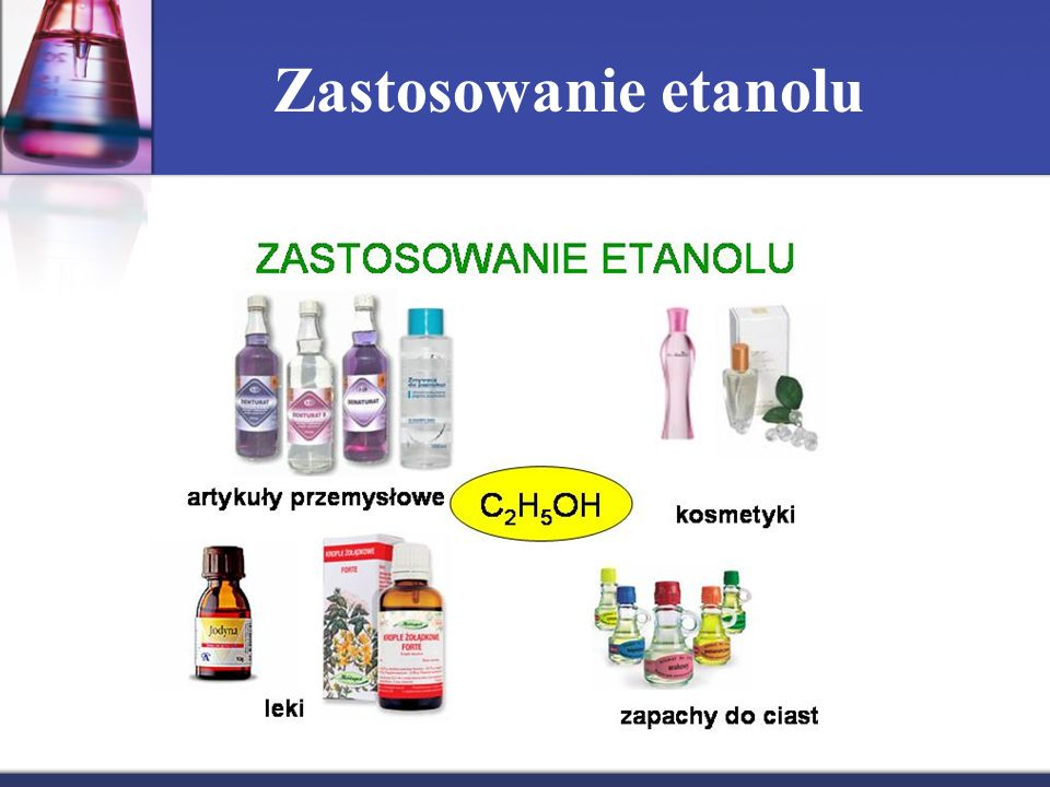 Zastosowanie etanolu