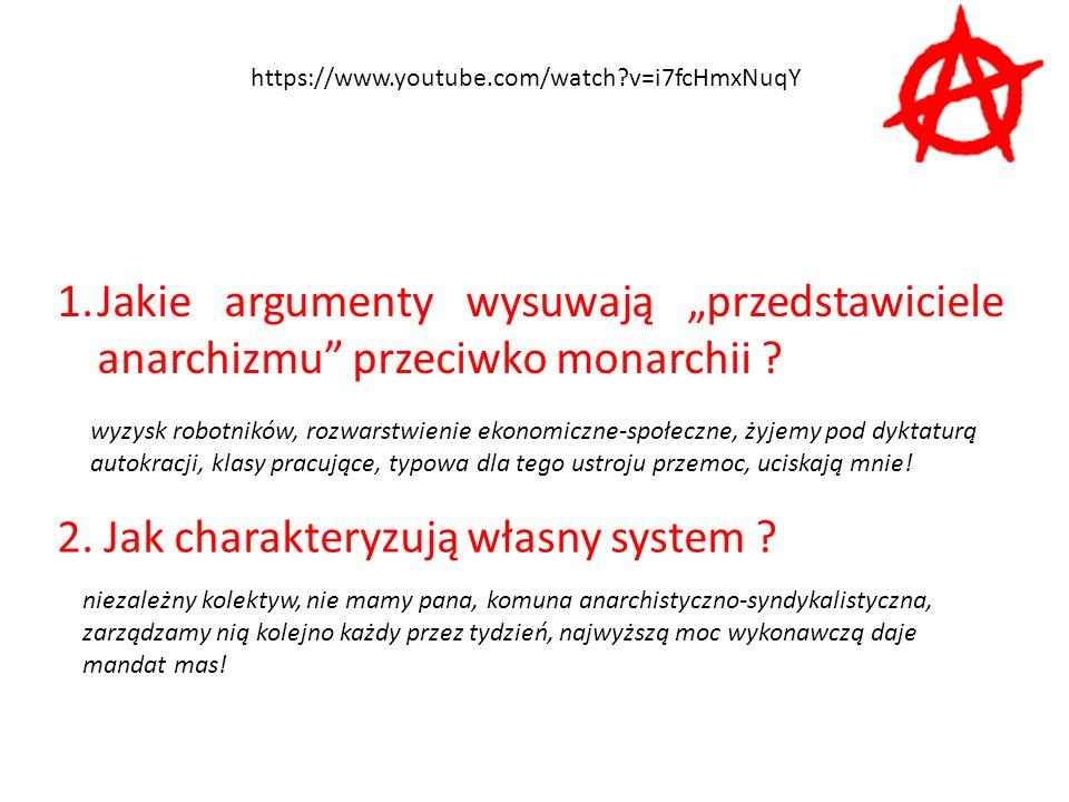 2. Jak charakteryzują własny system