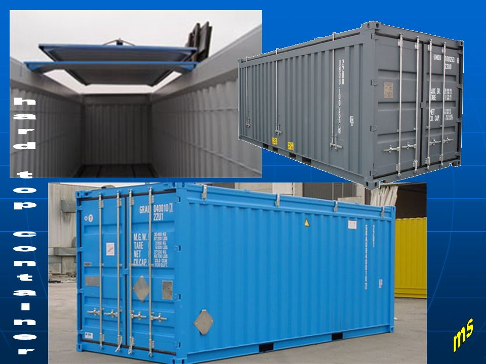 hard top container ms