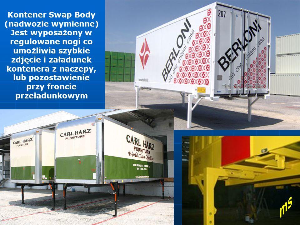 Kontener Swap Body (nadwozie wymienne)