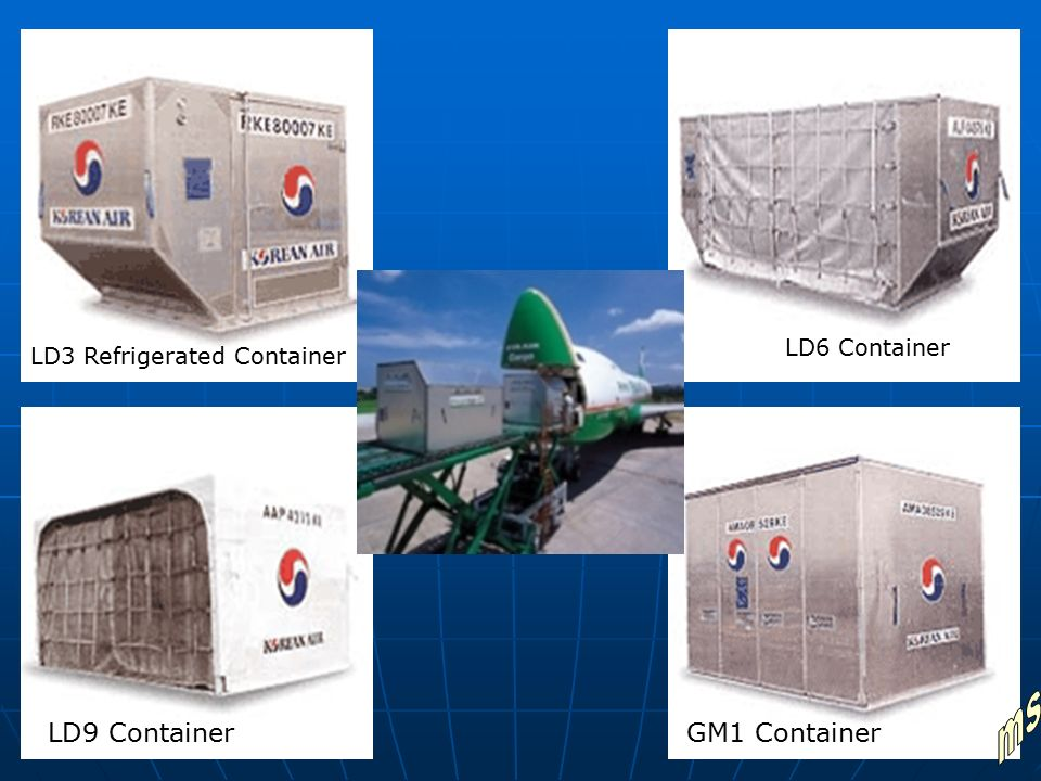 ms LD9 Container GM1 Container LD6 Container
