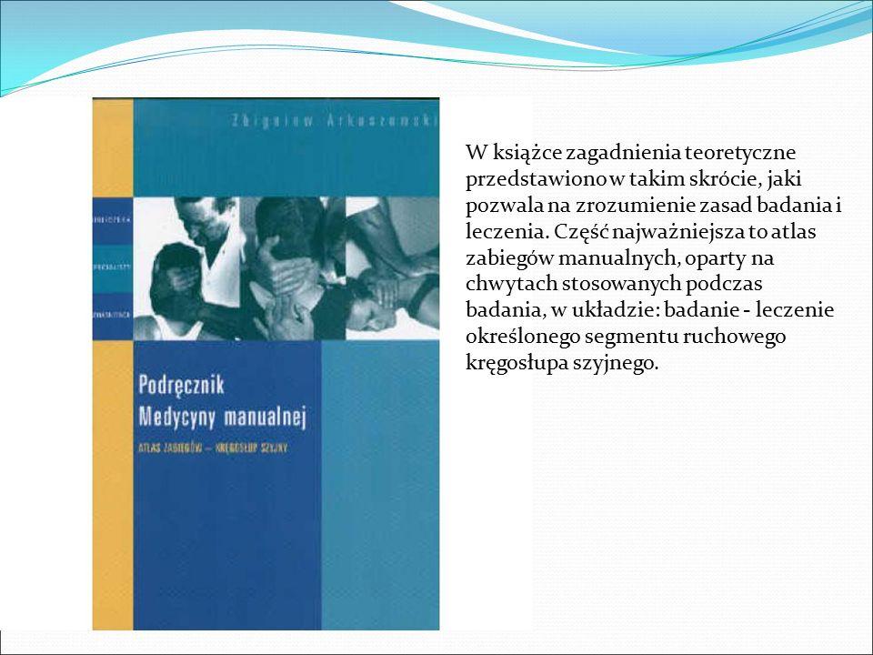 W książce zagadnienia teoretyczne przedstawiono w takim skrócie, jaki pozwala na zrozumienie zasad badania i leczenia.