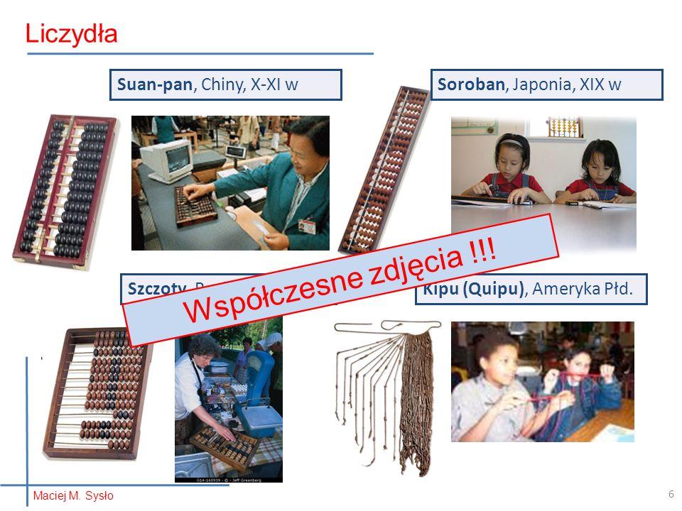 Współczesne zdjęcia !!! Liczydła Suan-pan, Chiny, X-XI w