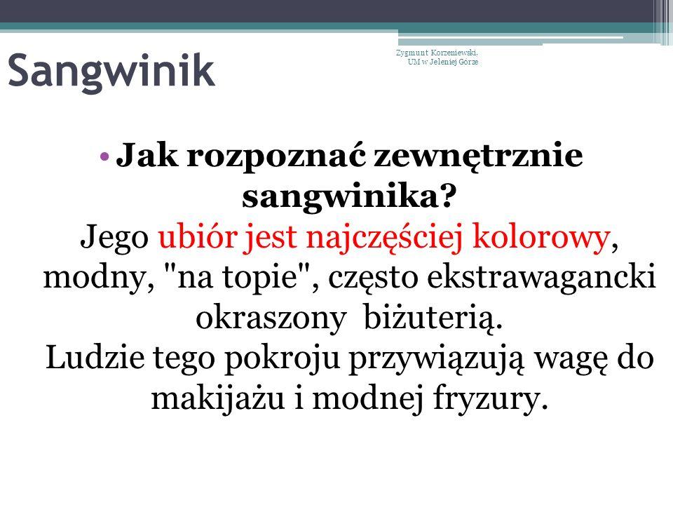Sangwinik Zygmunt Korzeniewski, UM w Jeleniej Górze.