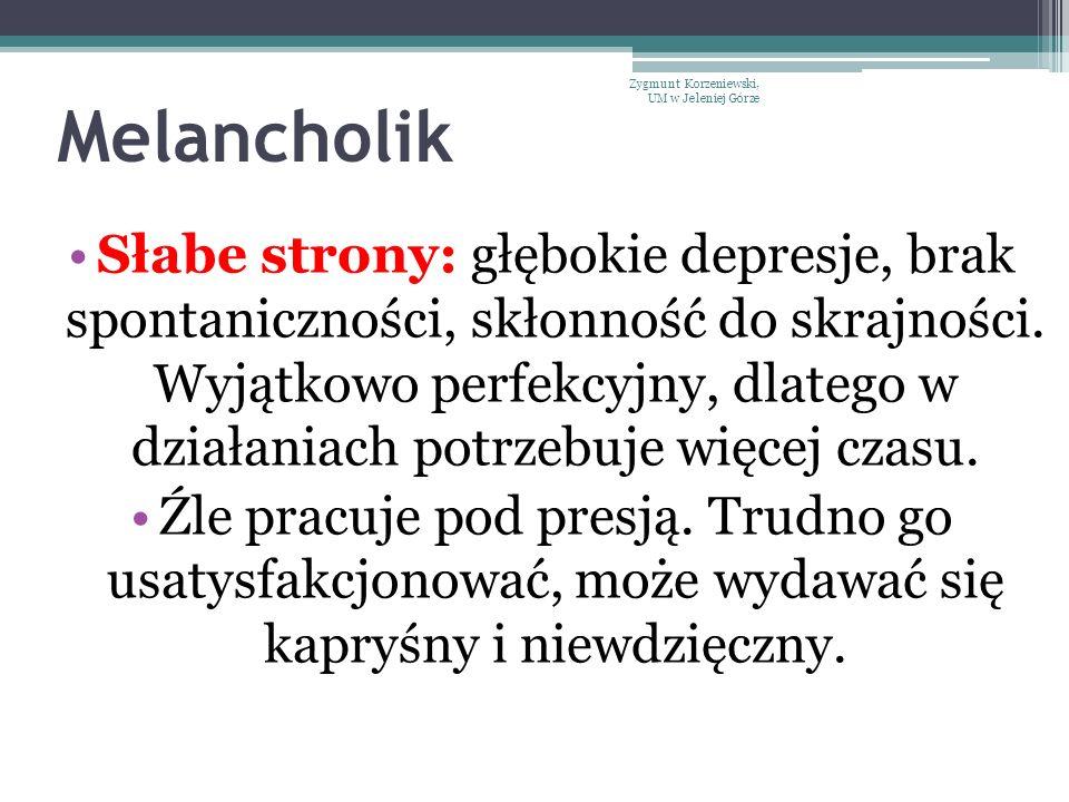 Melancholik Zygmunt Korzeniewski, UM w Jeleniej Górze.