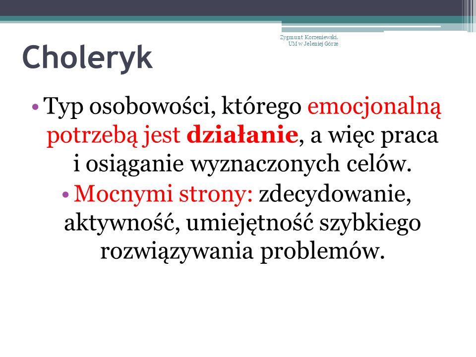 Choleryk Zygmunt Korzeniewski, UM w Jeleniej Górze.