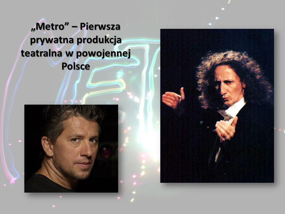 """""""Metro – Pierwsza prywatna produkcja teatralna w powojennej Polsce"""