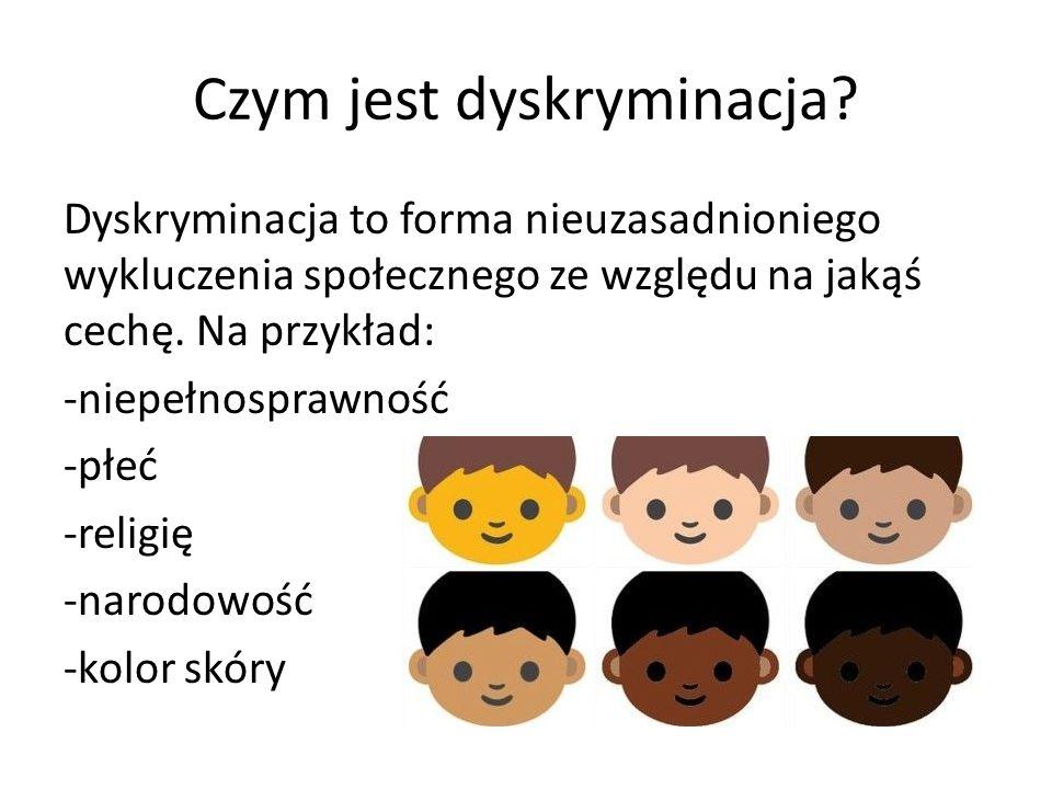 Czym jest dyskryminacja
