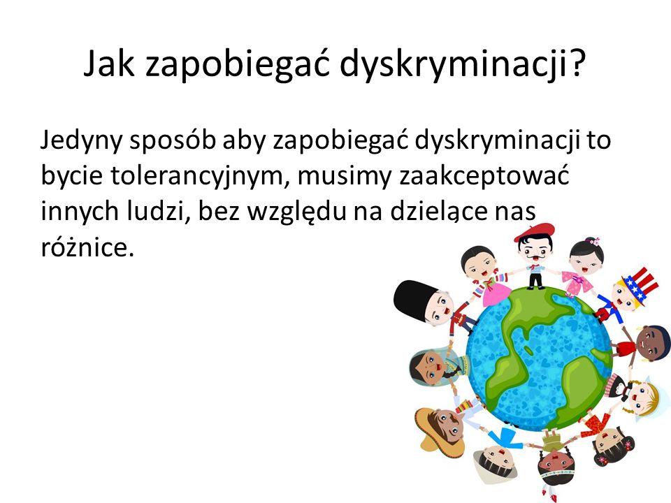 Jak zapobiegać dyskryminacji