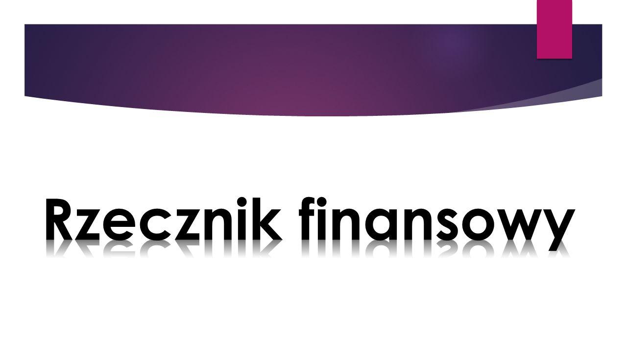 Rzecznik finansowy