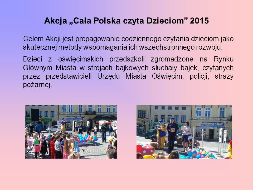 """Akcja """"Cała Polska czyta Dzieciom 2015"""