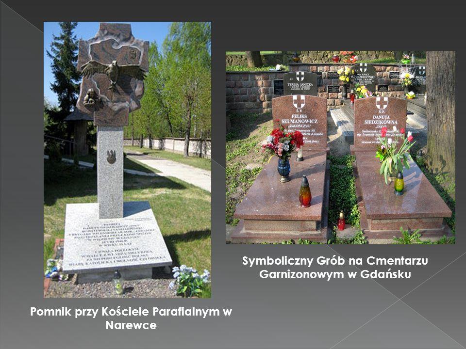 Symboliczny Grób na Cmentarzu Garnizonowym w Gdańsku