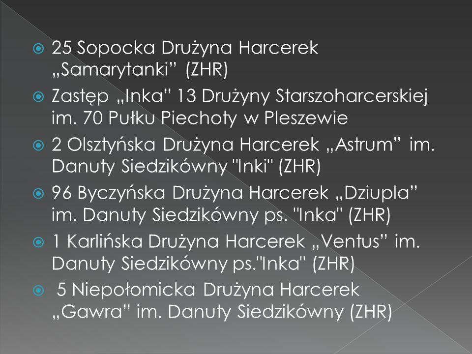 """25 Sopocka Drużyna Harcerek """"Samarytanki (ZHR)"""