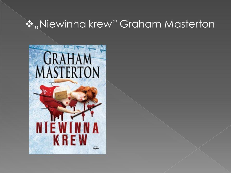 """Niewinna krew Graham Masterton"