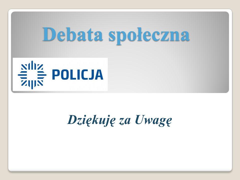 Debata społeczna Dziękuję za Uwagę