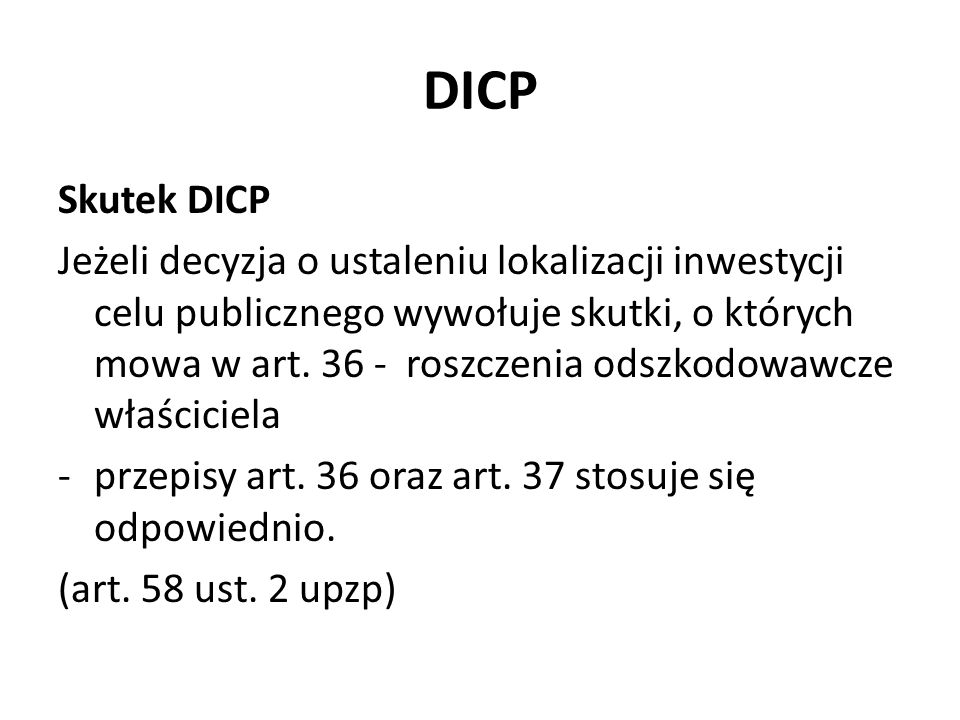 DICP Skutek DICP.