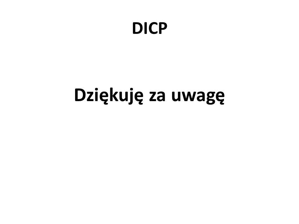 DICP Dziękuję za uwagę