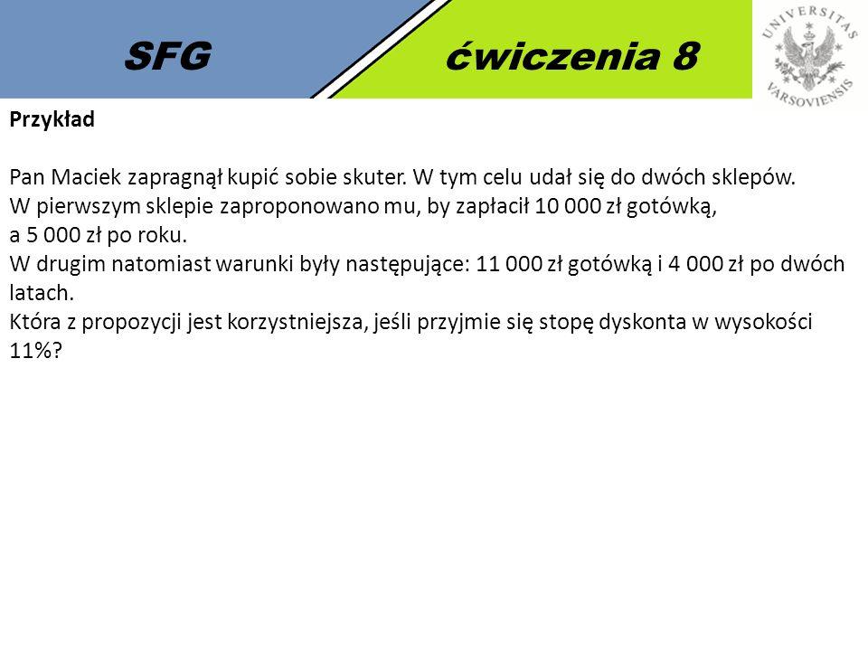 SFG ćwiczenia 8 Przykład