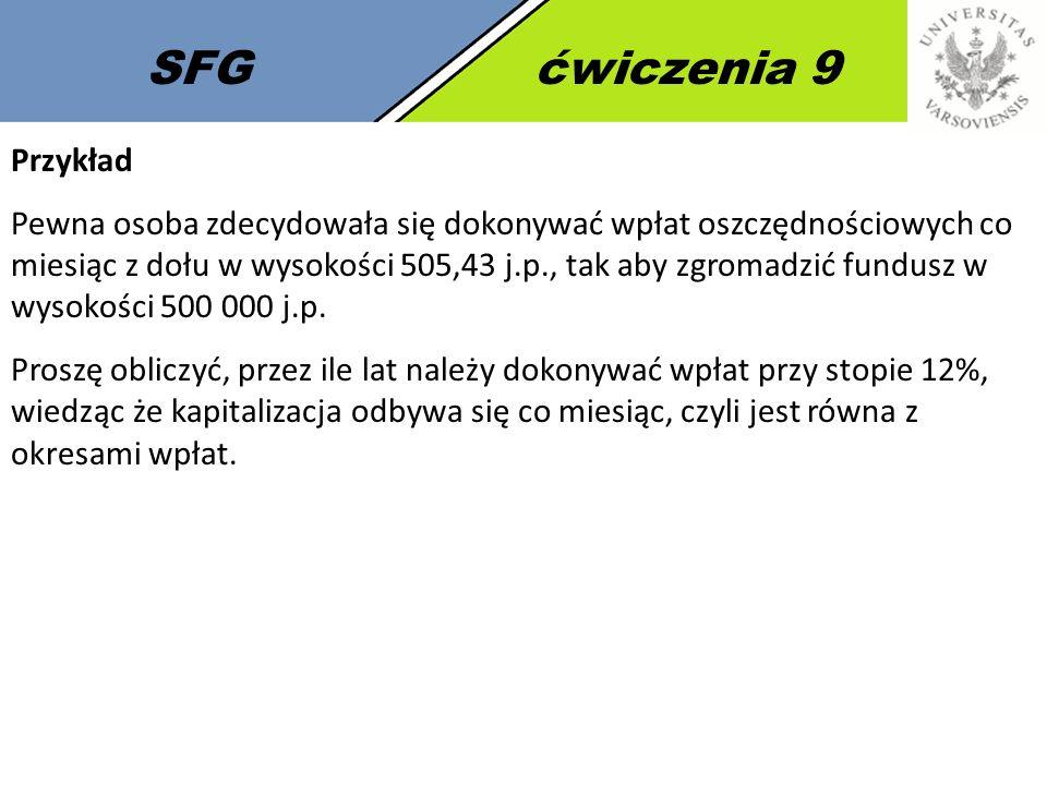SFG ćwiczenia 9 Przykład