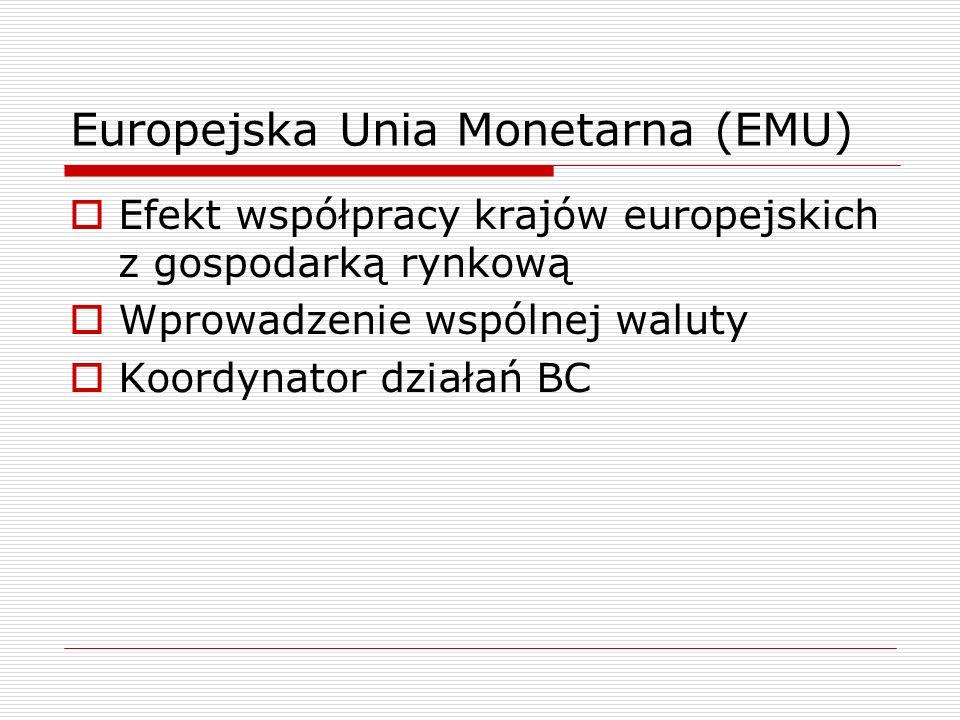 Europejska Unia Monetarna (EMU)