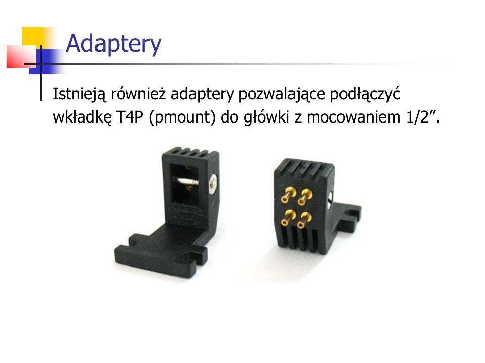 Adaptery Istnieją również adaptery pozwalające podłączyć